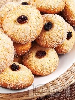 Лесни домашни сладки курабийки - снимка на рецептата